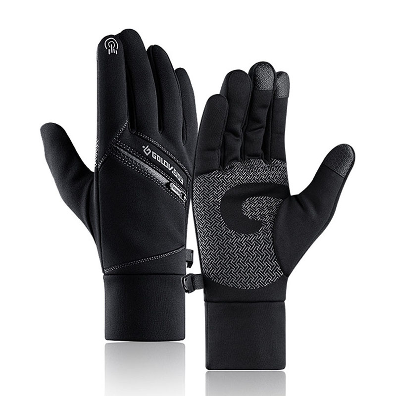 Winter Warm Waterproof Mens Glove Winter Gloves Touchscreen For Cycling Bicycle