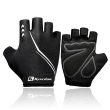 MTB Cloves Summer Cycling Gloves Half Finger Breathable Shock Absorption Bike Gloves For Sports Motorcycle Bicycle