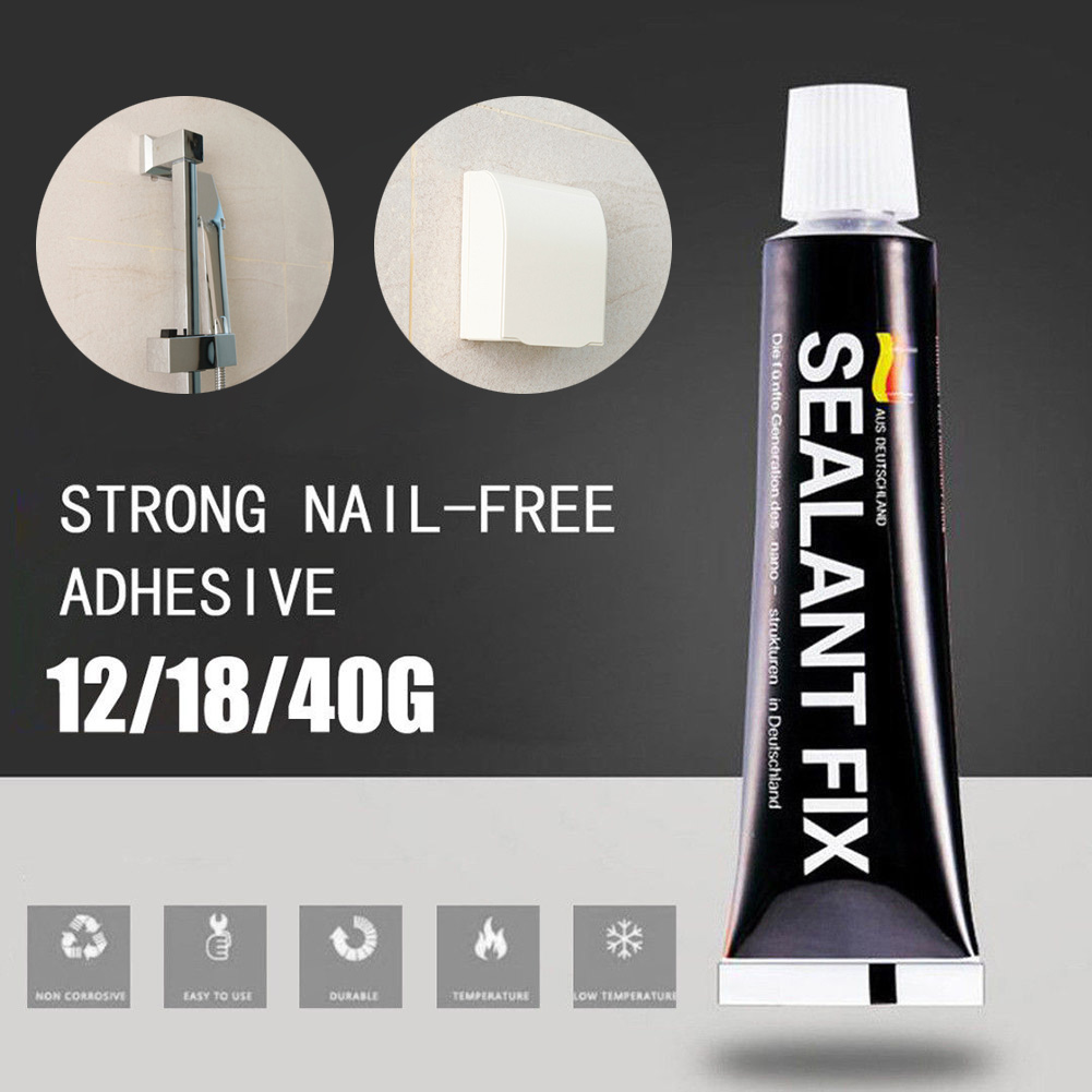 4/6/9/12/18g Glass Glue Strong Waterproof Sealant Fix Glue Quick Drying Polymer Metal Adhesive AUG889
