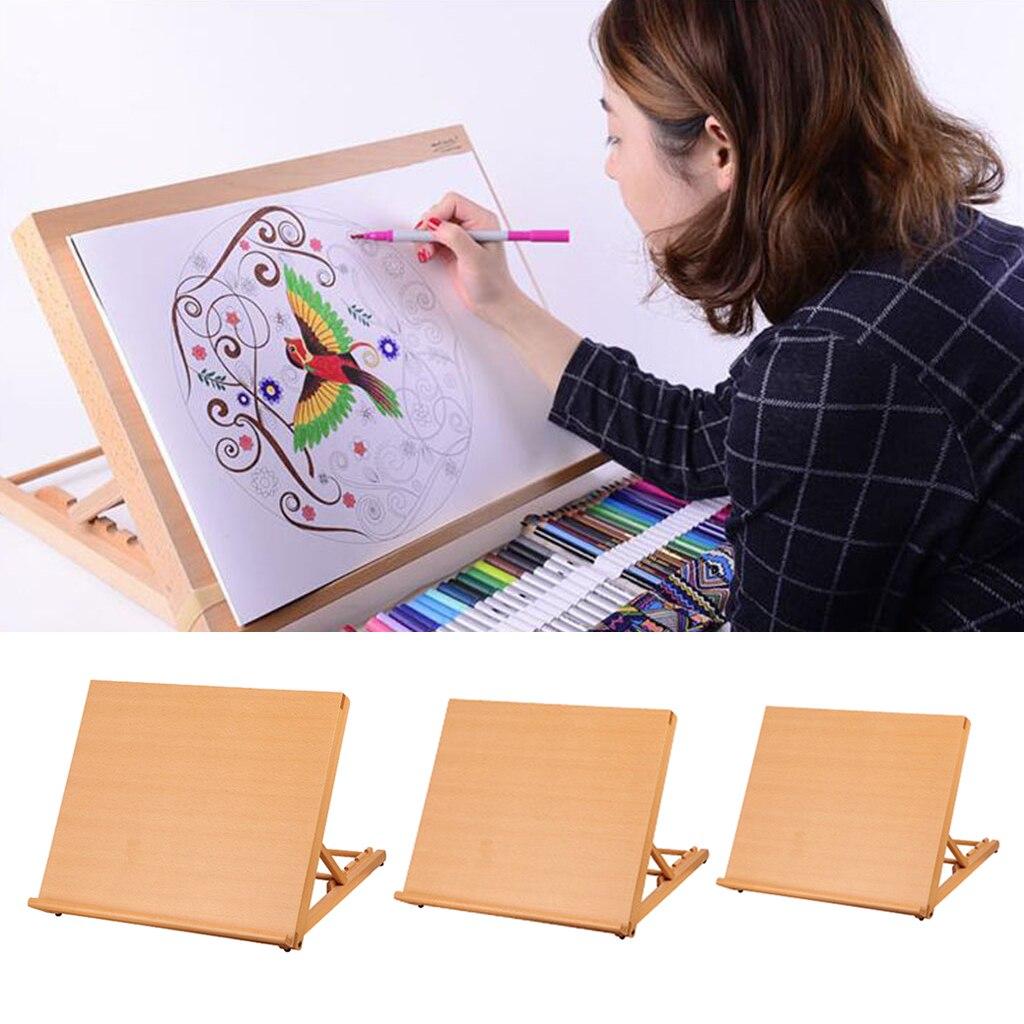 cavalete desenho e esboçar placa diy arte