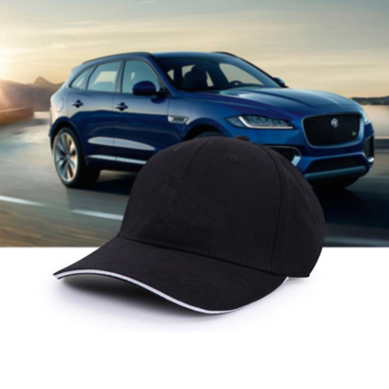 New Wholesale Black Fashion Cotton Car Logo For Jaguar XJ XJL F-TYPE Performance Baseball Cap Hat For Men& Woman