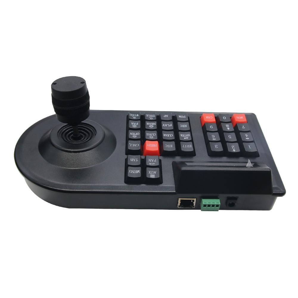 Image 3 - TZT 3D PTZ контроллер клавиатура для систем видеонаблюдения джойстик для RS485 PTZ скоростная купольная камера кронштейн поддержка Pelco D / P протокол 3 осиГолосовые модули распознавания/управления    АлиЭкспресс