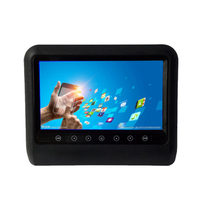 9 inch Hd 1080P Car Headrest Dvd Fm Ir Player Video Game Monitor Usb Sd Press Sensor