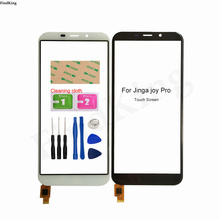 Touch Screen For Jinga Joy Pro Touch Panel Front Outer Glass Touch Screen Digitizer Sensor Tools Replacement Part