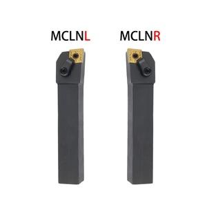 Image 4 - 1pc MCLNR2020 MCLNR 1616 MCLNR2525 חיצוני Triangul הפיכת כלי מחזיק CNMG קרביד מוסיף מחרטה חיתוך כלים סט