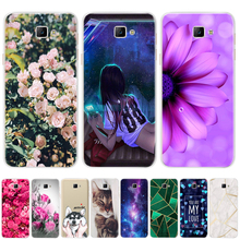 Phone Case For Samsung Galaxy A3 A5 2016 2017 Cases Coque Soft Silicone TPU Cute Cat Painted Back Cover For Samsung A 3 A 5 Case
