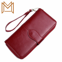 Long Wallet Zipper Wallet Concise Practical Wallet Hand Package