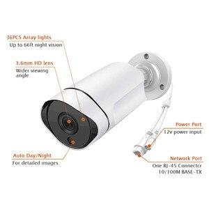 Image 5 - 5MP 3.0MP 2MP étanche en plein air IR coupe nuit Vision réseau de sécurité CCTV Onvif IP 48V POE H265 caméra Audio IOS/android vue