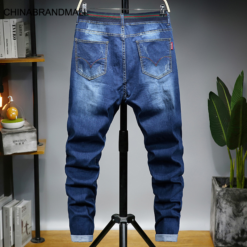Master 5008 Trend Men Jeans Big Size Men's Wear Jeans Male Loose Male Pants M-7xl