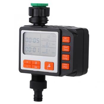 Zegar nawadniania elektroniczny zegar podlewanie ogrodu automatyczne nawadnianie sterownik nawadniania wyświetlacz LCD nawadnianie ogrodu tanie i dobre opinie Zerodis Ac pro Ogród wodny timery Z tworzywa sztucznego Watering Watering Timer 100 Brand New