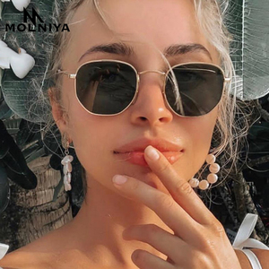 MOLNIYA 2020 Metal Classic Vintage Women Sunglasses Luxury Brand Design Glasses Female Driving Eyewear Oculos De Sol Masculino