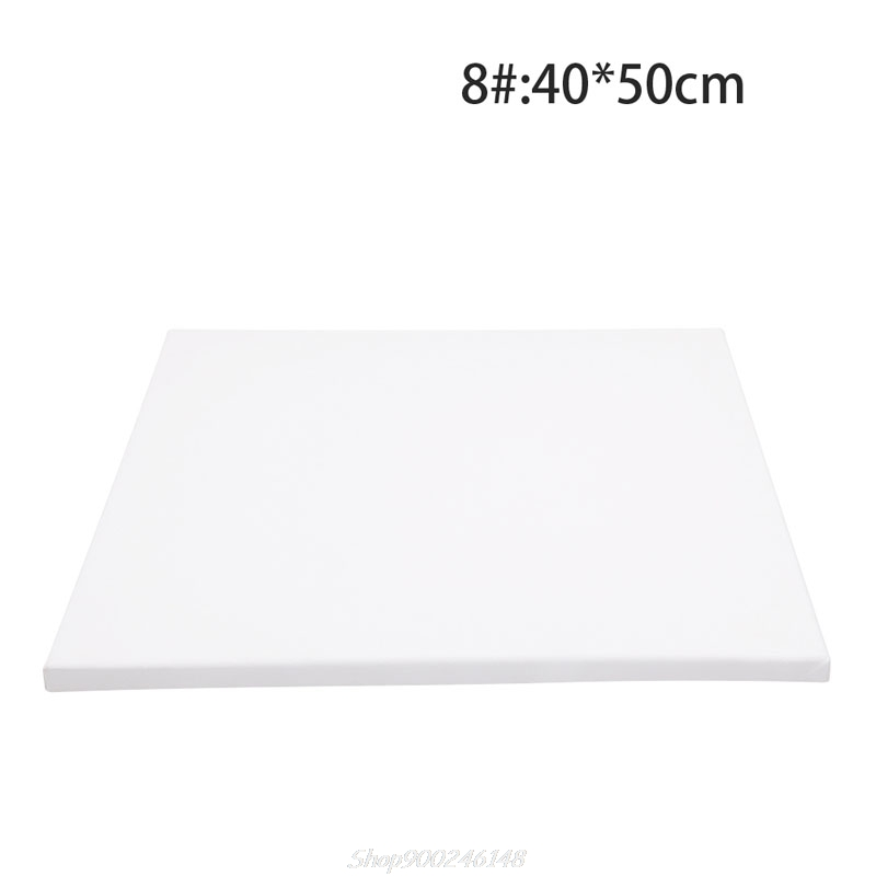 White Blank Square Artist Canvas Wooden Board Frame For Primed Oil Acrylic Paint Au18 20 Dropship|Frame|   - AliExpress