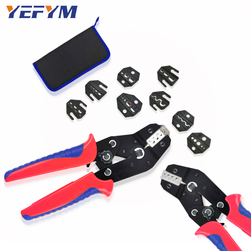 Crimping Tools Pliers Set For XH2.54 Pulg/tubular/tube/insulated Terminals SN-48BS SN-2549 8 Jaw Kit Electrical Pressing Pliers