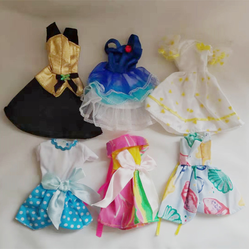MC2 Dolls Clothes Dresses, Skirts, Jeans 28cm American Doll Accessories A28-43