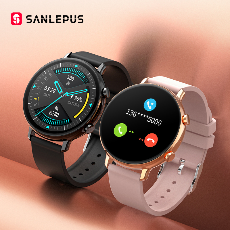 SANLEPUS 2021 Smart Watch Bluetooth Calls Men Women Waterproof Smartwatch ECG PPG Fitness Bracelet Band For Android Apple Xiaomi