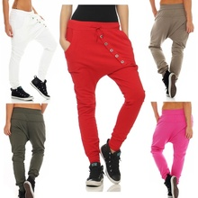 ZOGAA Women Harem Pants Ladies Casual Full Length Loose Female Solid Color Sweatpants Joggers Plus Size 2019 Hot Sale