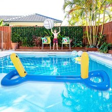 Floating-Toys Pool Swimming-Pool-Toy-Set Water-Amusement-Toy Beach-Games Inflatable Outdoor