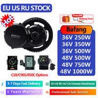 Bafang de Motor 36V 250W/350W/48V 500W 500W/750W/1000W BBS01 BBS02 BBS03/BBSHD bicicleta eléctrica/bicicleta Kit de conversión Ebike