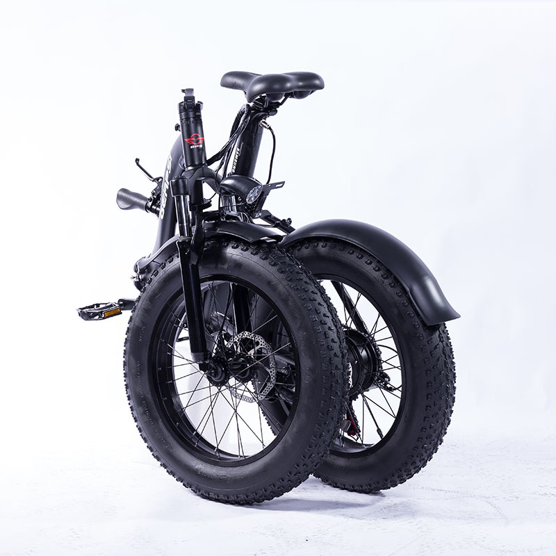 "Gps-02012ea 20"" New Much Popular Fat Tire Folding Bicycle Electric Folding Bike E-bike Fat Ebike 36 V electric bike cheap 4"