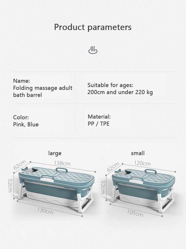 Portable Bathtub
