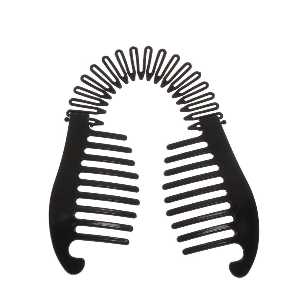 1PC-Woman-Elastics-Hair-Braider-Banana-Clip-Scorpion-Type-Hair-Holding-Tool-Ponytail-Rubber-Bands-Hair (2)