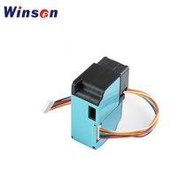 2 pces winsen zh03b módulo do sensor de poeira do laser pm2.5 diâmetro de partícula 0.3-10um detecção de qualidade do ar uart/saída pwm dados precisos