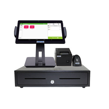 Newest OEM 10inch Android Tablet POS Cash Register with 80MM Printer,Bluetooth Scanner for Retail Restaurant