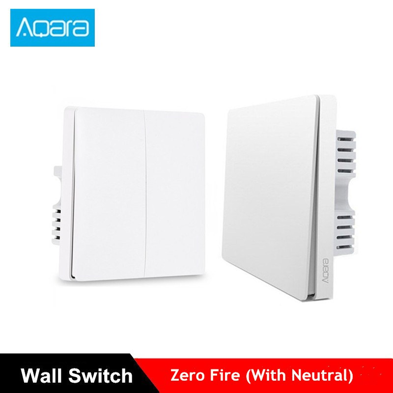 Aqara Smart Wall Switch Light Control Fire Wire And Zero Line Remote Control