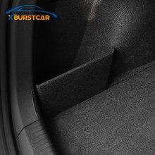 Xburstcar авто для Volkswagen VW Passat B8 Tiguan Polo T-Roc Troc Jetta MK6 MK7 Запчасти для багажника автомобиля дефлектор задний ящик для хранения