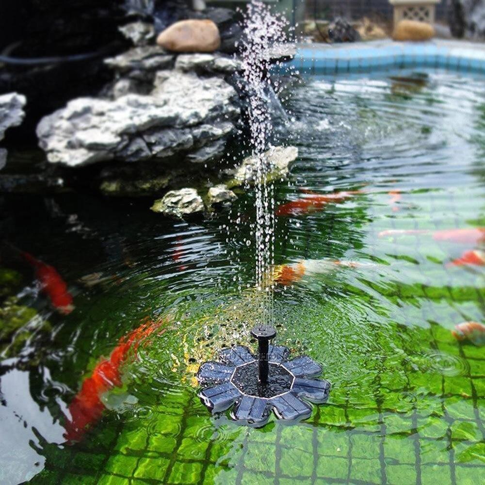 Outdoor Garten Sprinkler Solar Powered Vogel Bad Wasser 2pc Pumpe Für Pool Garten Aquarium Garten Zubehör Aspersor Riego @ 35