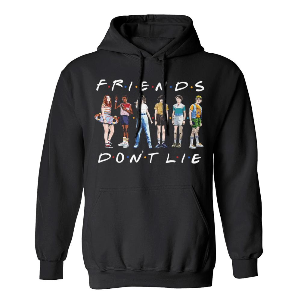 Unisex Hot NEW Friends Member Pop Fashion Warm-ing Soft Women Hoodies Sweatshirt Hip Hop Clothing Friends Dont Lie