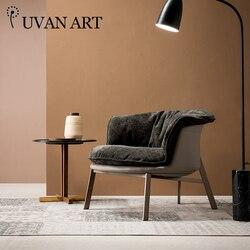 Nowoczesny minimalistyczny sofa fotel lekki luksusowe pojedyncze krzesło fotel wypoczynkowy balkon do sypialni 276R-16