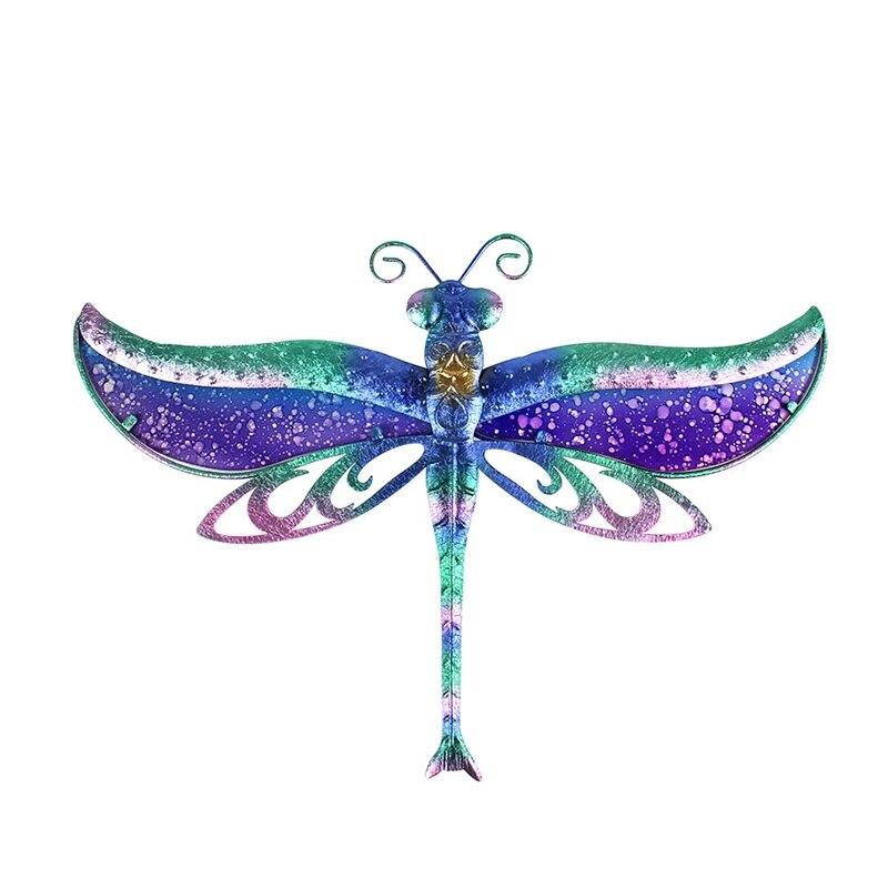 Liffy подарок стрекоза стена произведения искусства для сада украшения на открытом воздухе животных декоративные и сад статуи