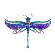 Liffy Gift Dragonfly Wall Artwork for Garden Decoration Outdoor Animal Decorative and Garden Statues
