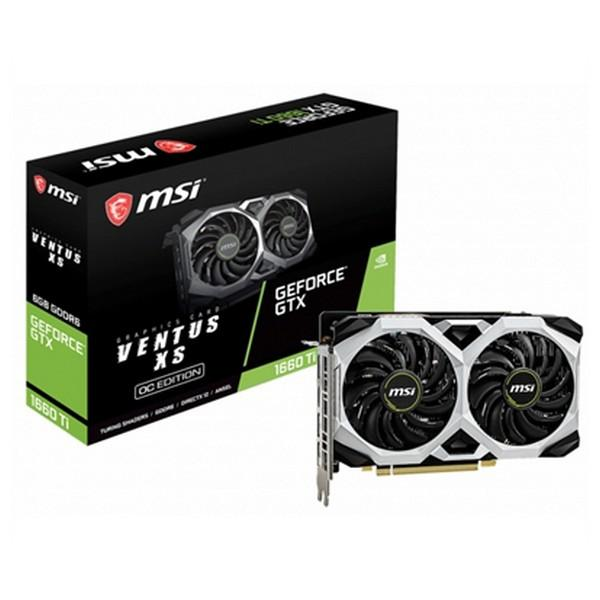 Carte graphique Gaming MSI NVIDIA GTX 1660 Ti VENTUS XS 6 GB GDDR6