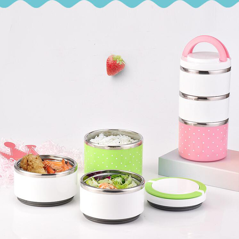 Image 5 - Hot Sale Lunch box Stainless Steel Thermal Insulation School Lunch Box Leak Proof Food Container Bento Box-in Lunch Boxes from Home & Garden
