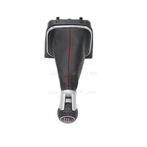 Image 3 - For VW Golf 6 A6 VI MK6 GTI GTD R20 2009 2010 2011 2012 2013 Car Stying 5 / 6 Speed Car Stick Gear Shift Knob With Leather Boot
