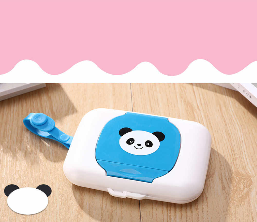 Baby Travel Wipe Case Child Wet Wipes Box Changing Dispenser Storage Holder Plastic tissue box portable Paper towel storage