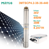brushless dc centrifugal Solar Water Pump 36v Deep Well Submersible Irrigation Pump for garden