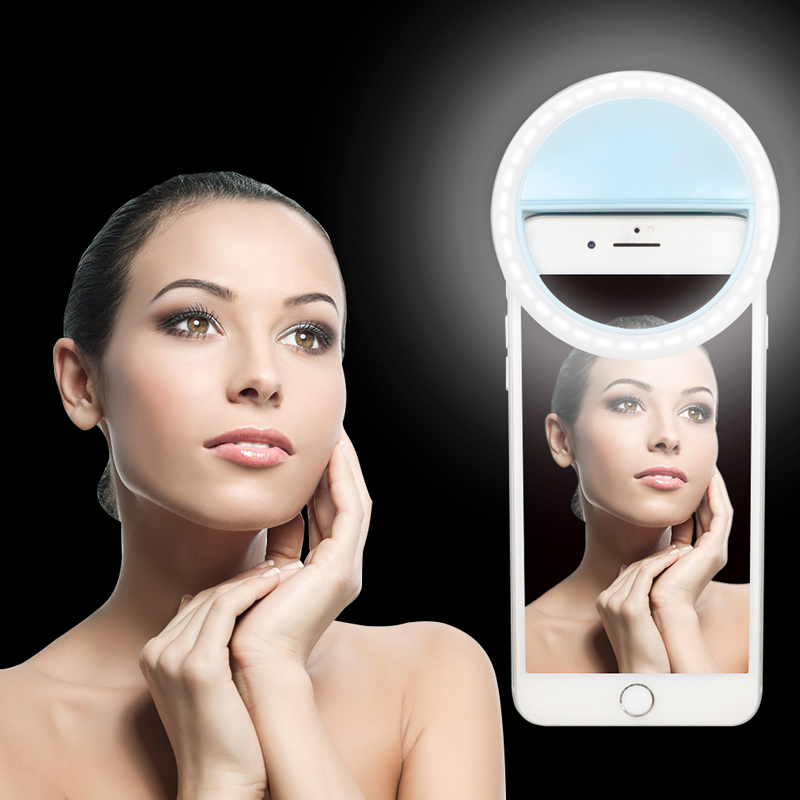 Ring-Light Led-Camera Flash Smartphone Selfie Portable for Enhancing Usb-Charge New-Arrive
