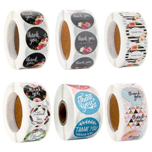 Sealing Stickers Thank-You Love-Design Decorations-Labels Diary 500PCS Party-Gift