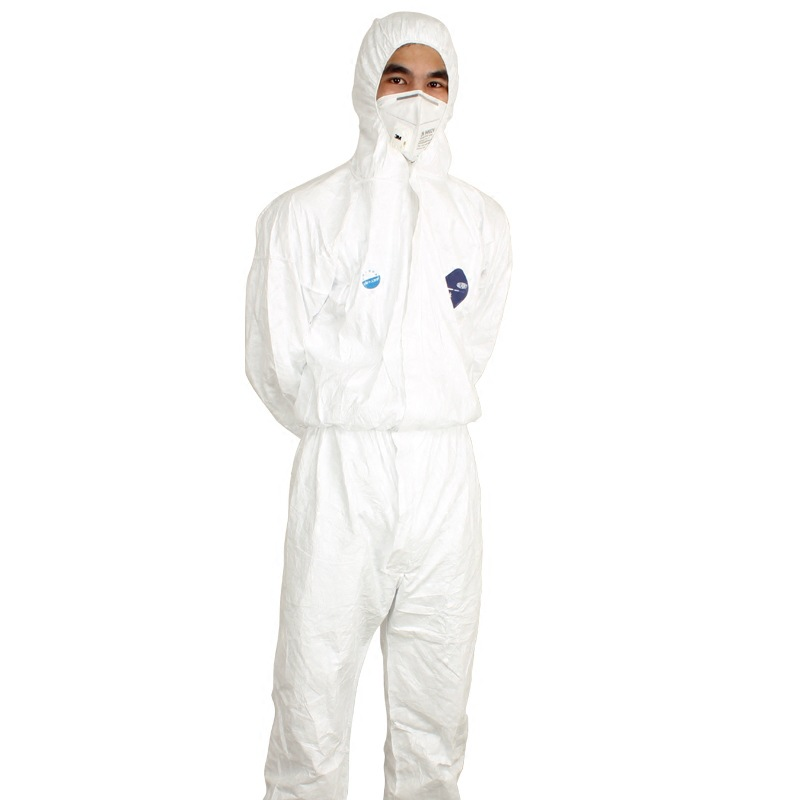 Workshop Protective Workwear Men Dust-proof Industry Laboratory Chemical High Quality Breathable Soft White Experiment Clothes