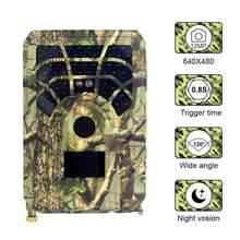 PR300A avcılık kamera 12MP 1080P 120 derece PIR geniş açı sensörü kızılötesi gece görüş yaban hayatı Trail termal kamera Video kamera