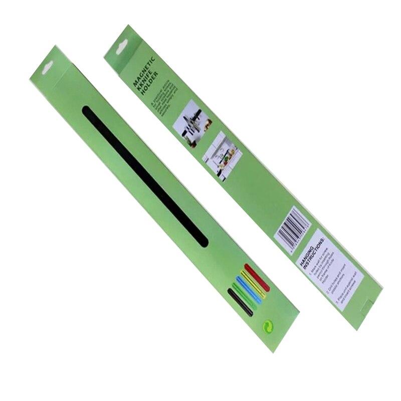 BALLE настенный магнитный держатель для ножей из нержавеющей стали для хранения металлических ножей для кухни, офиса, бара, гаражной мастерской - Цвет: 38cm