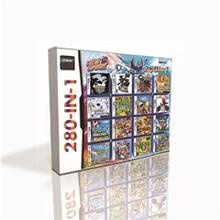 280 en 1 cartouche de jeu chaude pour DS 2DS 3DS Console de jeu avec pokemoné noir blanc coeur or SoulSilver platine Marioed Kart
