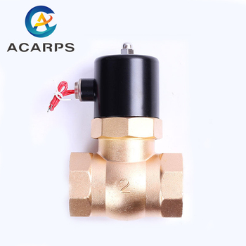 2 Inch Normally Closed  Brass Solenoid Valve For Steam