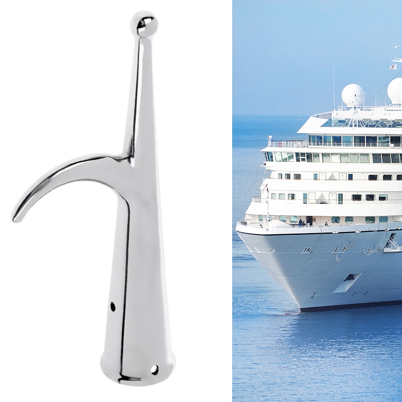 Replacement Marine Raft Boat Hook Head End Lifeboat Yacht Sailing Dock Anchor Hardware Accessories