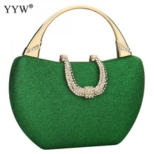 Green Sequined Handbag For Women Clutch Purses For Women Evening Bags