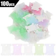 Lmdz 100 шт пластиковая нить швейная катушка намоточная пластина