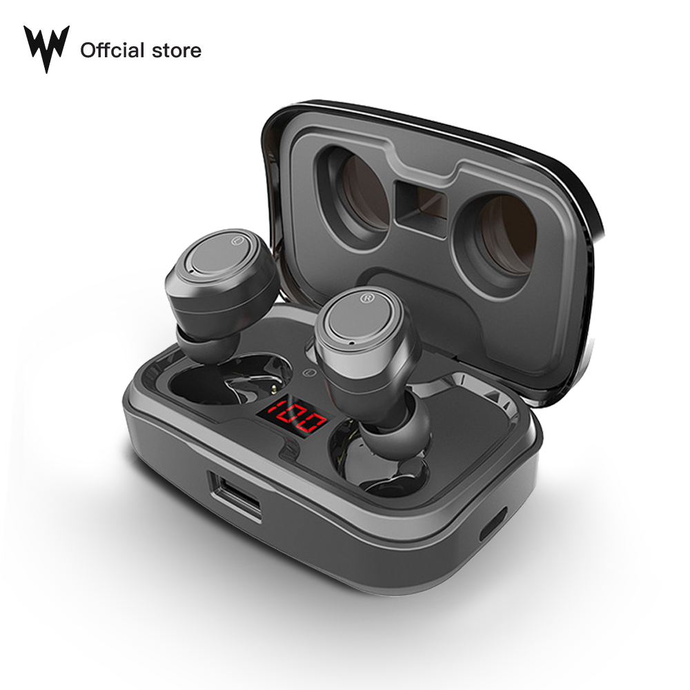 Беспроводные наушники TWS X10, bluetooth, IPX7 водонепроницаемый, регулятор громкости, BT V5.0, шумоподавление, 3D стерео, аккумулятор 3500 мАч
